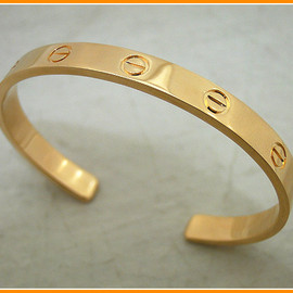 Cartier - LOVE Gold Bracelet