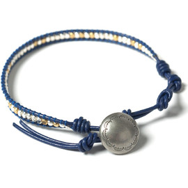 NEIGHBORHOOD - Beads . Concho-1 / BL-Bracelet Navy
