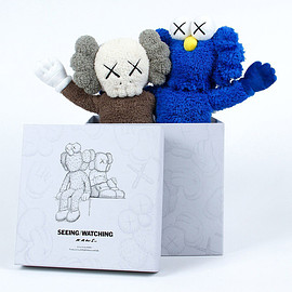 "KAWS - KAWS SEEING/WATCHING 16"" Plush"