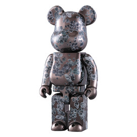 MEDICOM TOY - MATT BLACK 400% BE@RBRICK