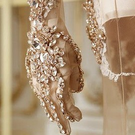 GIVENCHY - Givenchy, jeweled gloves