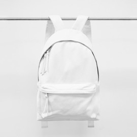 Stampd - White Leather Backpack