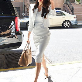 amal clooney - working style