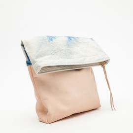 Job & Boss - BLOCKED SHIBORI CLUTCH