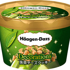 Häagen-Dazs - Decorations 抹茶チーズクッキー