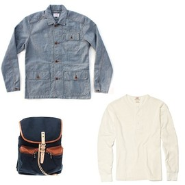 edwin - morris denim jacket levis vintage clothing henley sandqvist backpack EDWIN MORRIS DENIM JACKET + LEVIS VINTAGE CLOTHING HENLEY + SANDQVIST BACKPACK | ASOS 20% VOUCHER