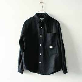 WHOLE LEAF COAT T/CWEATHER / NAVY