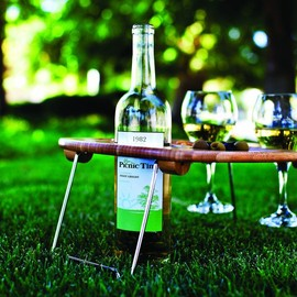 Picnic Time - Mesavino Portable Wine and Snack Table