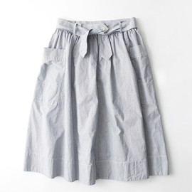 MHL. - FINE STRIPE CHAMBRAY