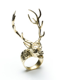 Digby & Iona - 14 Point Stag Ring