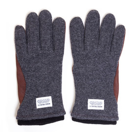 Norse Project, Hestra - Svante Glove - Charcoal/Brown