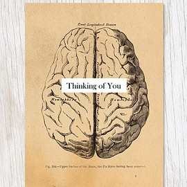 Cognitive Surplus - Nerdy greeting card