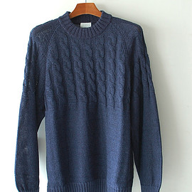 URU - CABLE CREW KNIT