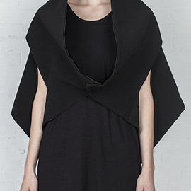 Rad  by Rad Hourani - reversible transformable shawl