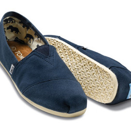 Blue Canvas Woman's Classics