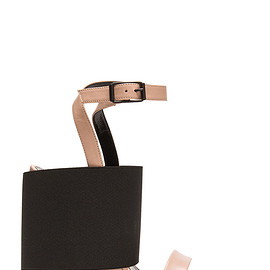 BALENCIAGA - Wedge Leather Sandals