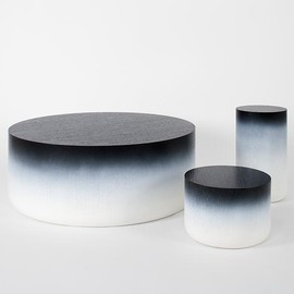 Stephane Parmentier - Tables and Stools, Tie & Dye edition