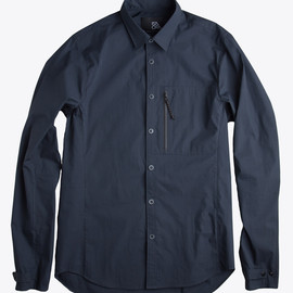ISAORA - Nano-Tech Shirt - Navy