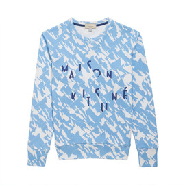 MAISON KITSUNÉ - MOUNTAIN ALL OVER SWEATER