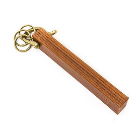 SOAK IN WATER - HOTEL KEYHOLDER / BROWN