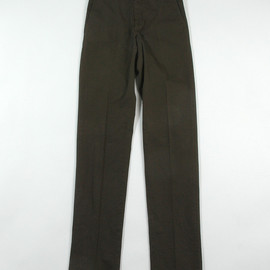 LANVIN - Overdyed Regular Pants (2012AW)