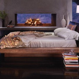 Environment Furniture - Santos Platform Bed