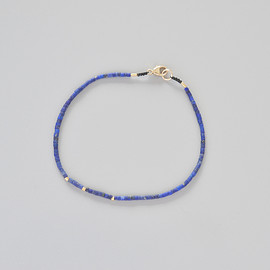 Margaret Solow - Lapis and Gold Beads Bracelet