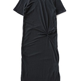 Objects Without Meaning - Twist Tee Dress (black)