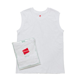 Hanes - 【Hanes FOR BIOTOP】2-Pack Sleeveless T-shirts