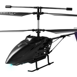 Swann - Black Swann - RC stealth helicopter shoots videos and still photos