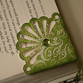 General Crafts Gallery: Fast Scrap #1 - Fast Scrap #1, Book Mark Fancy Corner