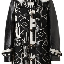 Altuzarra - William Navajo Printed Wool Parka