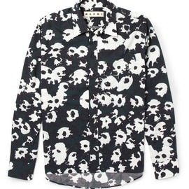 MARNI - Printed Cotton Shirt