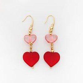 Valet Studio - Emma Earrings Red