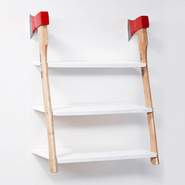 axe shelf by Max Qwertz & Yanik Balzer