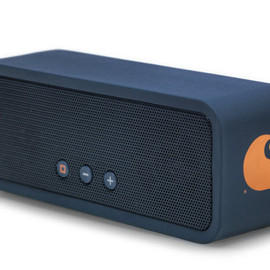 Lowdi, Carhartt WIP - Wireless Speaker - Deep Night/Carhartt Orange
