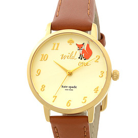 kate spade NEW YORK - metro wild one strap watch