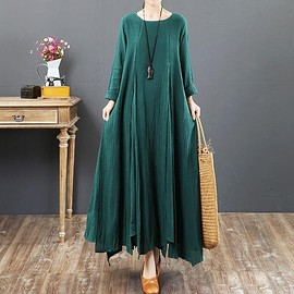 Green maxi dress, Plus size dress, women dress, floor length dress, Wedding dress, prom dress - dress