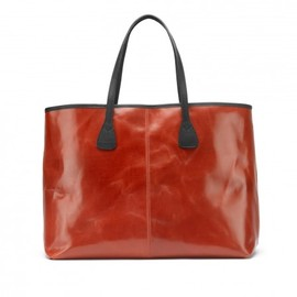 TUSTING - Image for Alice Leather Tote Bag - Large in Red
