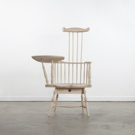 NORMAN KELLEY - Comb-Back Writing Arm Chair