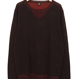 OSKLEN - OSKLEN WOOL KNIT RED / BLACK
