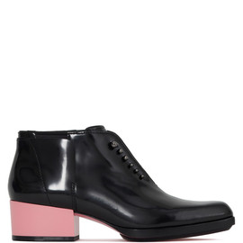 3.1 PHILLIP LIM - Newton Boot In Black With Peony Heel