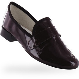 repetto - Mocassin Michael Marron cola Veau verni