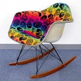 Herman Miller / Mid-Century MODERN - Arm Shell with Pendleton Fabric