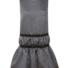 CHRISTOPHER KANE - Ruched Round Neck Dress