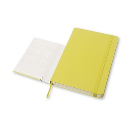 MOLESKINE - 18 MONTHS WEEKLY NOTEBOOK 2015/2016 yellow hard cover
