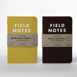 """FIELD NOTES - """"Drink Local"""" edition"""