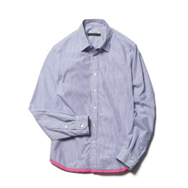 SOPHNET. - END PIPING REGULAR COLLAR SHIRT