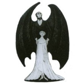 The Gorey Store - Dracula & Lucy Pin