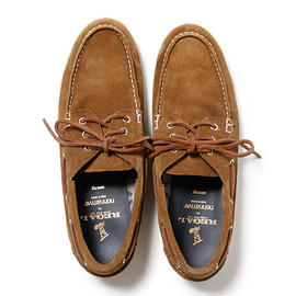 nonnative, REGAL - DWELLER DECK SHOE - COW LEATHER WITH GORE-TEX® 2L by REGAL
